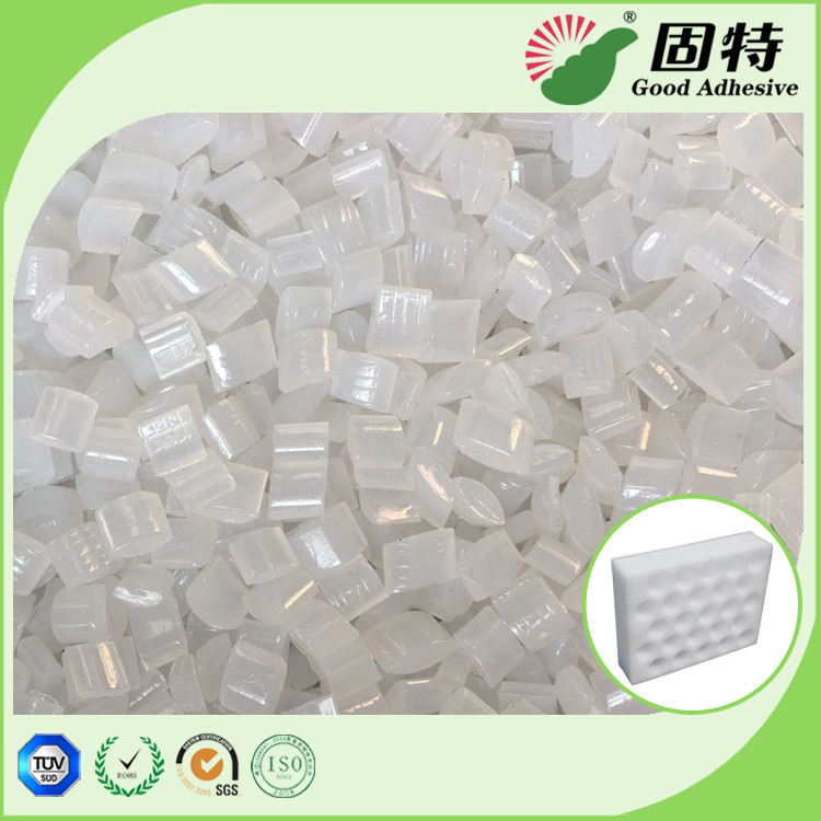 Yellowish Granule Hot Melt Pellets For  EPE Foam Sheet Bonding Packing Carton.Hot Melt Glue Adhesive For  Sheet Bonding