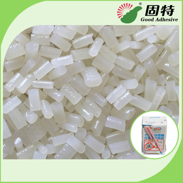 White Semi Transparent Hot Melt Adhesive Glue Pellets For Carton or Box  Sealing