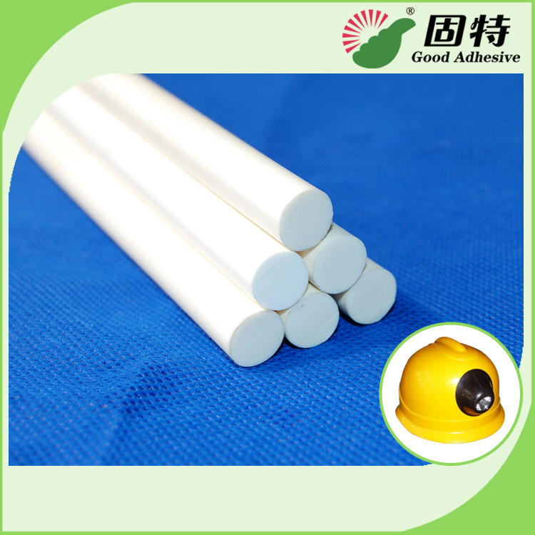 Milk White Stick-Like Solid Water Resistence Hot Melt Glue Sticks Gun For Flame Resistence And Protect Safety