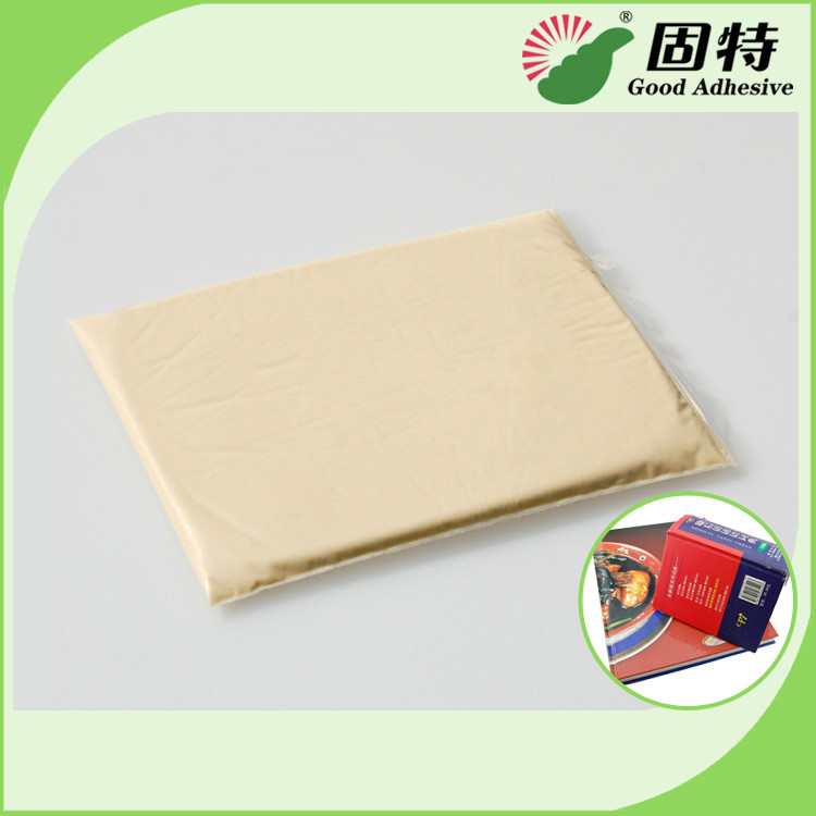 PH 6.5 Industrial Strength Hot Glue Packaging For Notebook Backlining